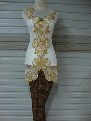 Kebaya Fancy Gliter Combi