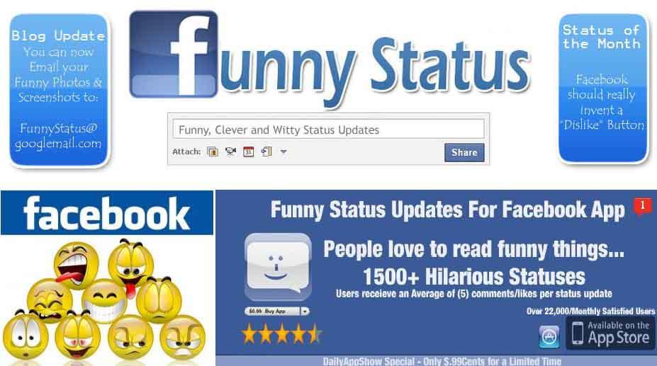 Kumpulan Status Facebook Lucu, Gokil, Konyol dan kocak