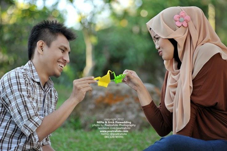 Prewed Romantis Hijab 77