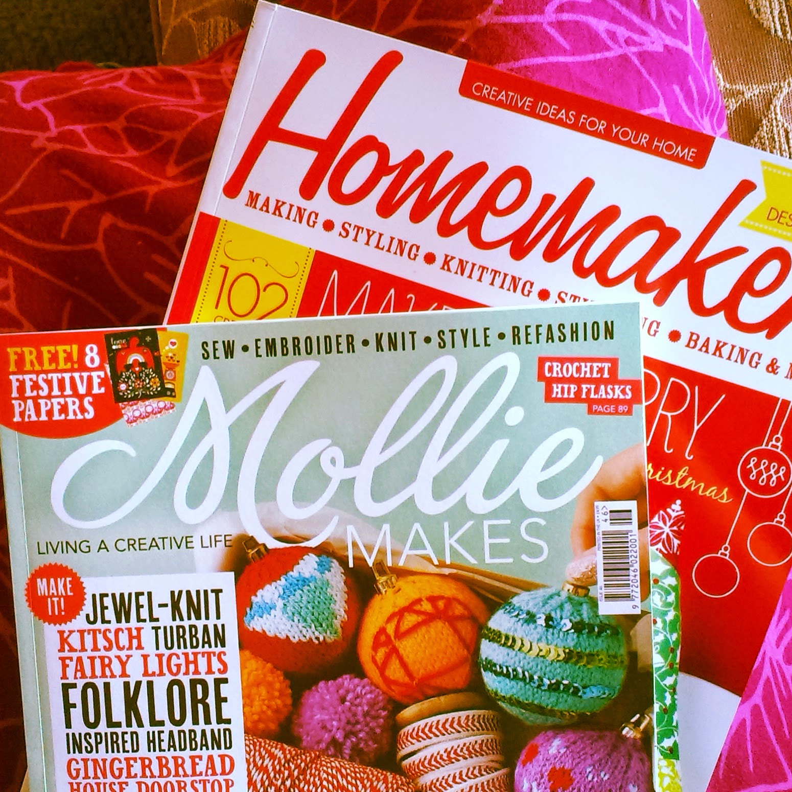 Mollie Makes and Homemaker magazine