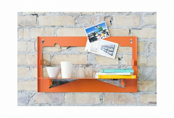 minimal wall shelf design