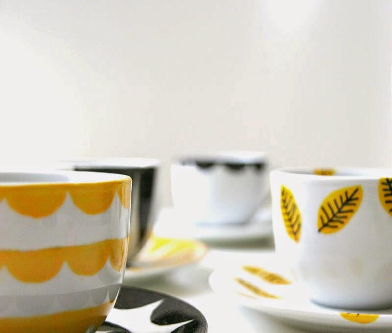 DIY: Cómo pintar cerámica, personaliza un juego de café o tus tazas ...