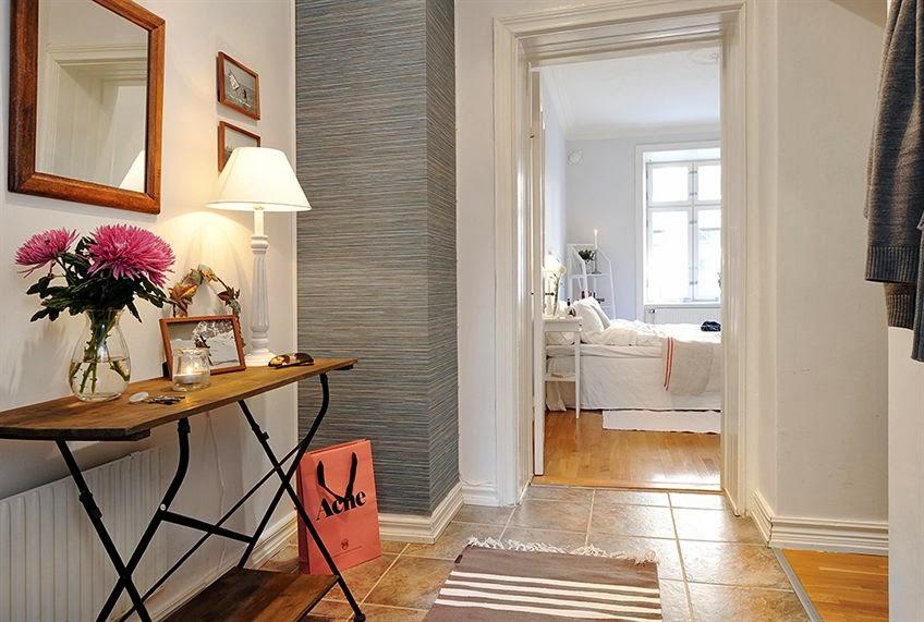 Un recibidor con encanto mi casa es feng - Recibidores con encanto ...