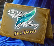 Flight of Fancy: Two Doves