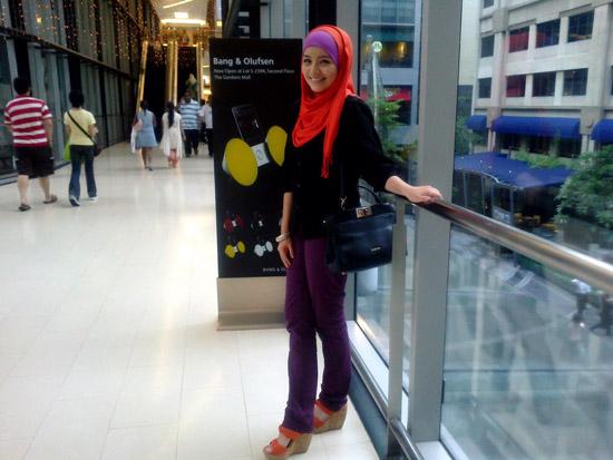 Panduan Blogger - Foto Cun Cantik Amirah Filzah