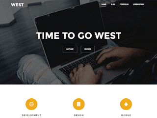 wordpress professional themes : West Theme