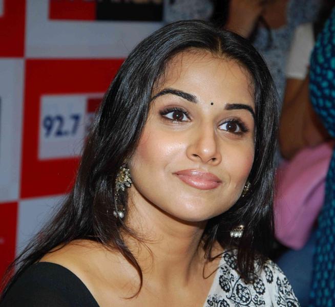 Vidya Balan At  Big FM Photos unseen pics