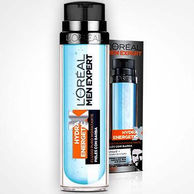 L'Oréal Men Expert Hydra Energetic fluido hidratante para pieles con barba