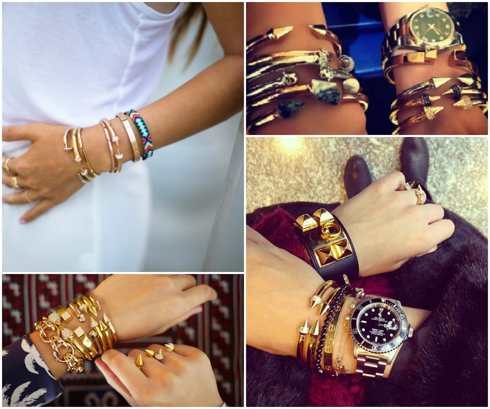 The Look For Less Vita Fede An Bracelets