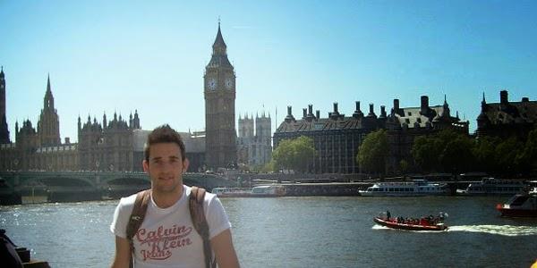 Pedro en la bahía de Westminster