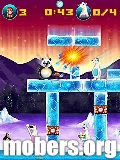 Jogo para celular – Crazy Penguin Assault