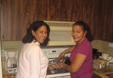 En la cocina de Elida Perez