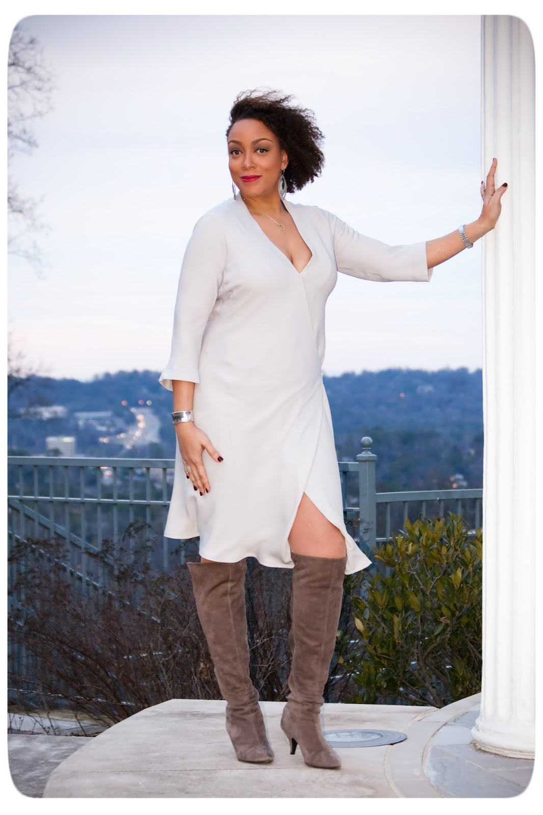 Review: Vogue 1384   Shades of Grey Silk Georgette Dress! - Erica B.'s DIY Style!