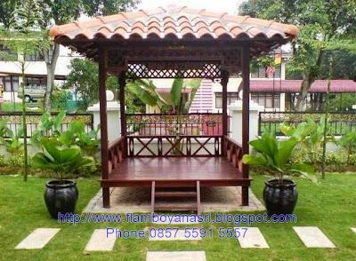 Tukang Taman Surabaya Gazebo Modern