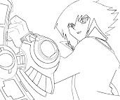 #5 Jaden Yuki Coloring Page