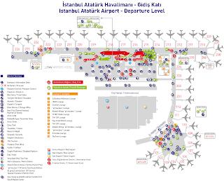 istanbul Atatürk Airport Departure