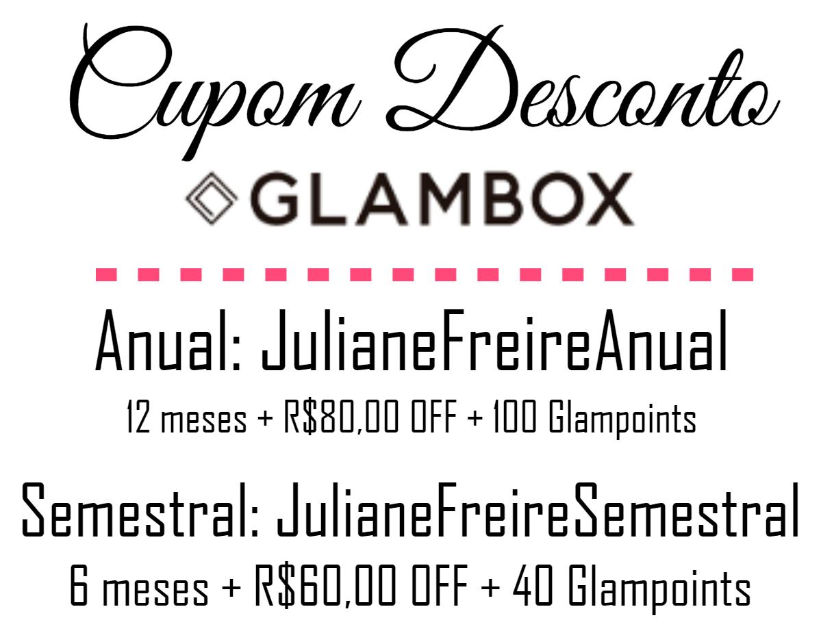 Cupom Desconto Glambox