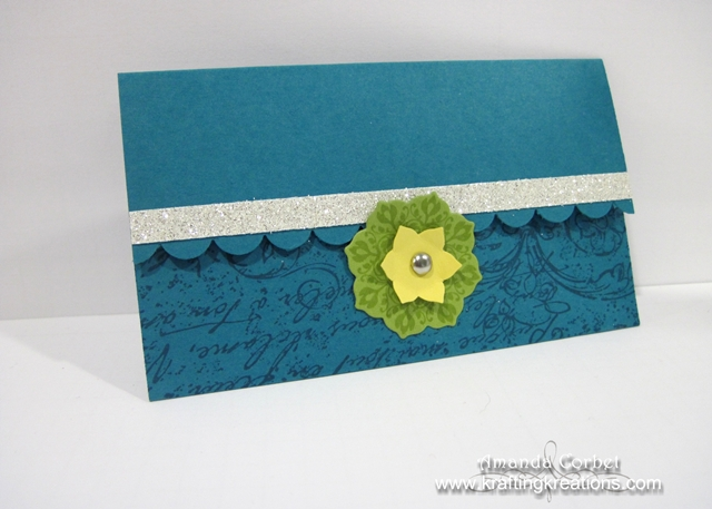 Indigo Gift Card Holder