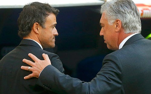 Real ngại gặp Barca