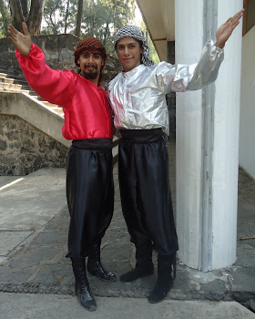 vestuario hombre dabke libanes