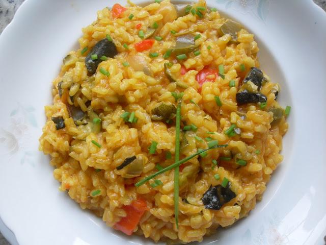 Blog con recetas sencillas r pidas y econ micas de - Arroz con pescado y verduras ...