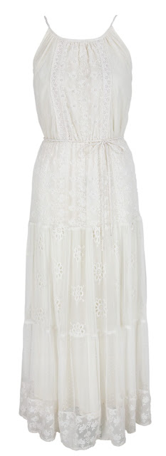Red Herring White Maxi Dress