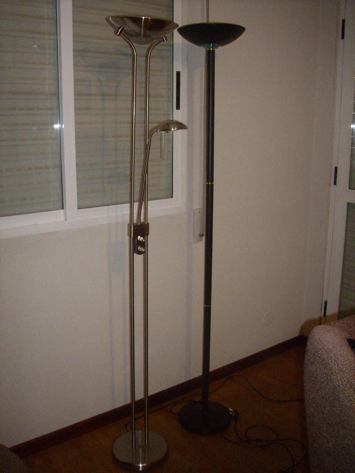 Como arreglar una l mpara de pie hal gena - Como hacer una lampara de pie artesanal ...