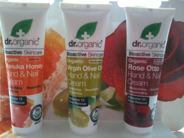 Dr Organic Hand & Nail Creams