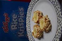 Banane, Erdnussbutter, Kellogg´s Rice Krispies