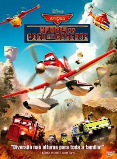 Aviões 2: Heróis do Fogo ao Resgate - BDRip Dual Áudio