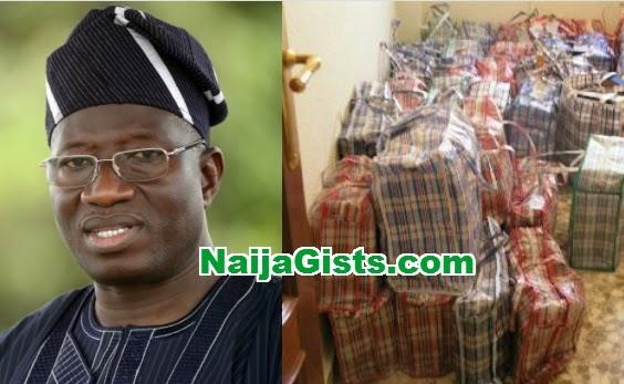 jonathan bribe dollars yorubas
