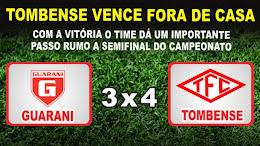 Ouça o jogo Tombense 4x3 Guarani