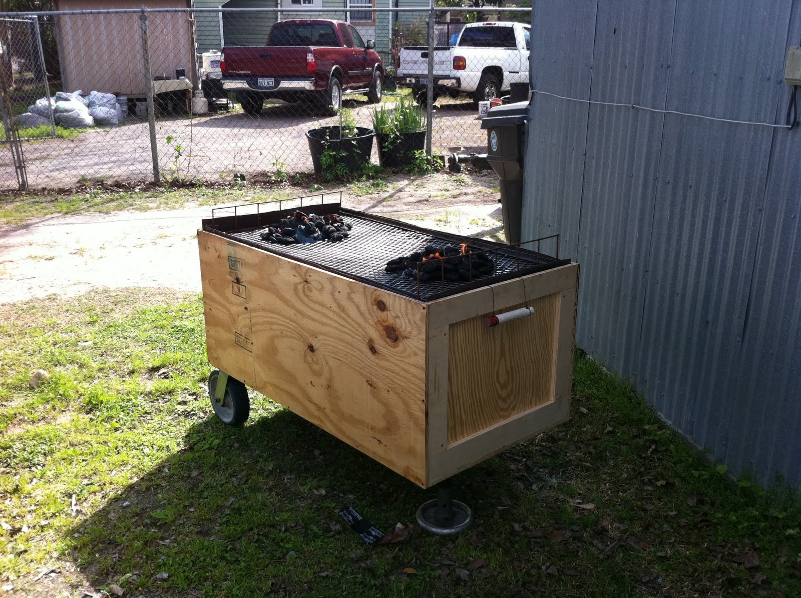 how to build a caja china