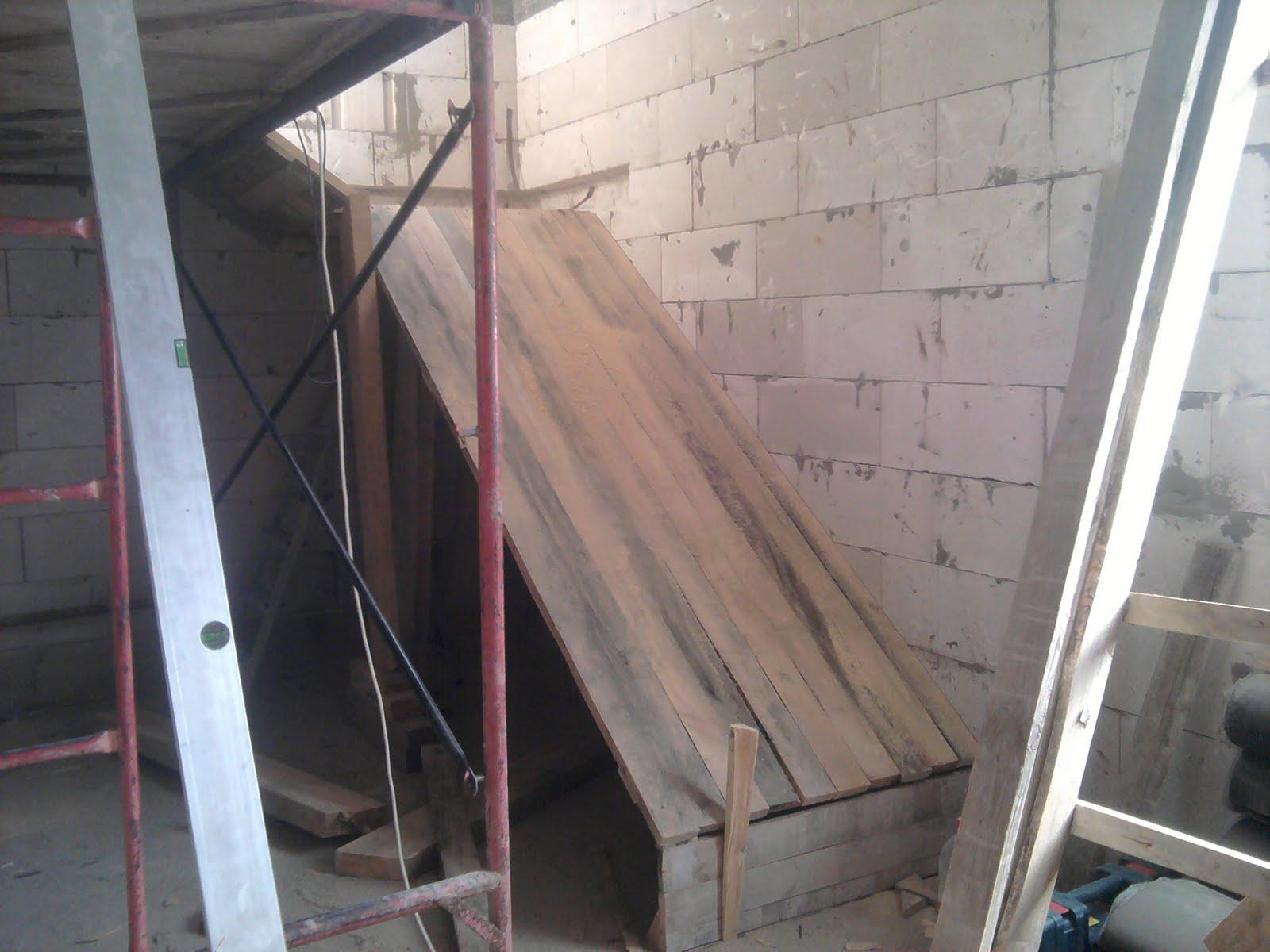Как сделать опалубку бетонных лестниц 307