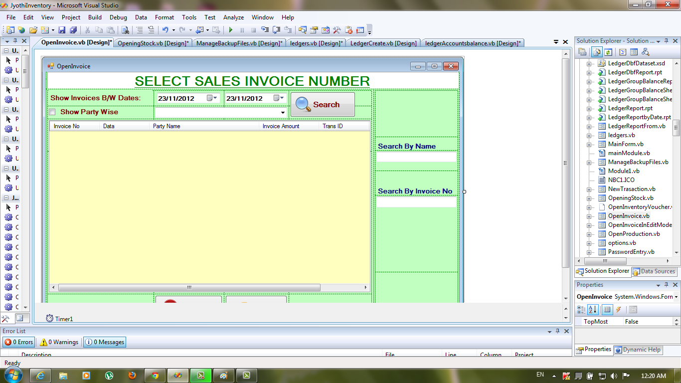 Inventory Management Software With Source Code In Vb Net