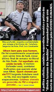 TEMOS ORGULHO DE POLICIAIS MILITARES E CIVIS QUE DÃO A SUA VIDA EM PROL DA JUSTIÇA!