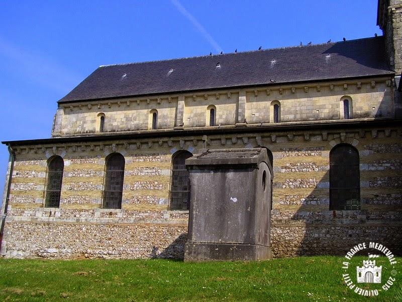 MANEGLISE (76) - Eglise Saint-Germain-l'Auxerrois (Extérieur)