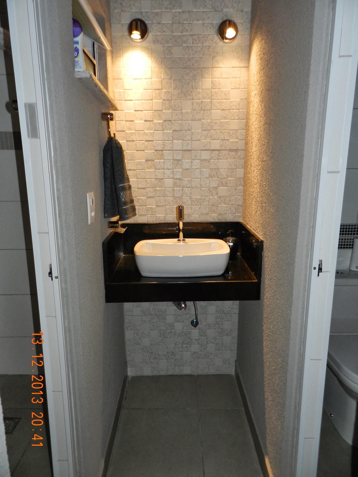Casa da Gloria: 15 de Dezembro de 2013 #A16C2A 1200x1600 Banheiro Com Lavabo Externo