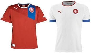 Jersey Ceko untuk EURO 2012