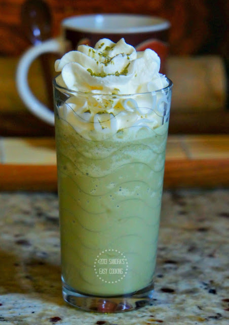 Green tea Frappuccino recipe