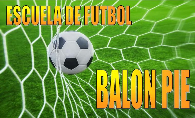 Escuela de futbol infantil Balon Pie