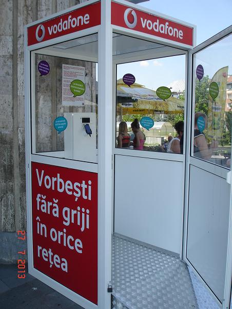Vodafone Cabina Telefonica inedita