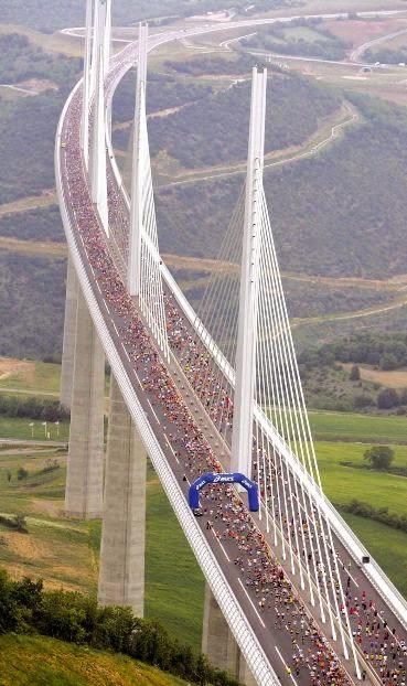 Millau Viaduct Bridge,France