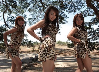 Foto Hot Trio Macan yang Menggoda Assoy