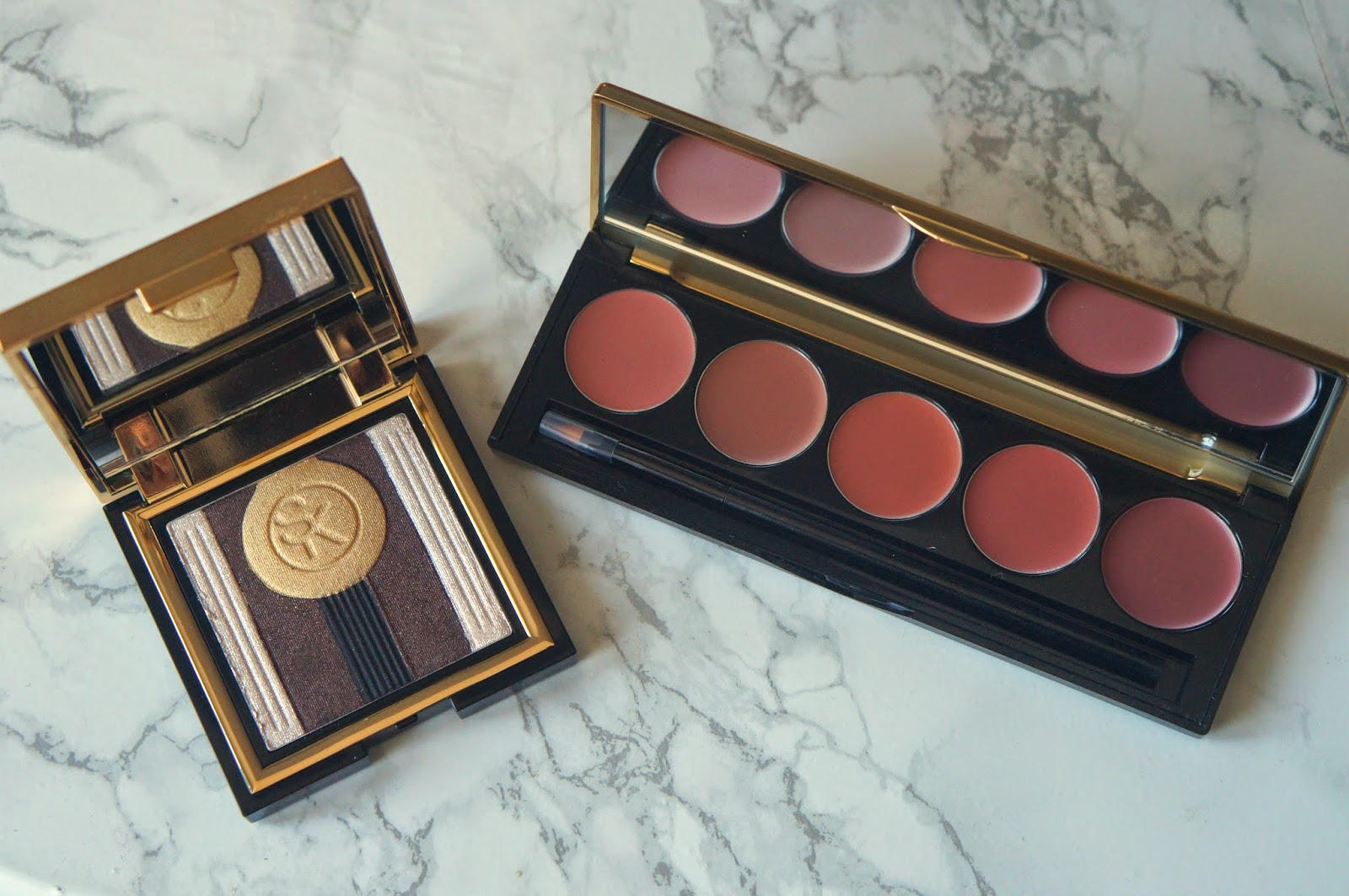 sonia kashuk art deco palettes review