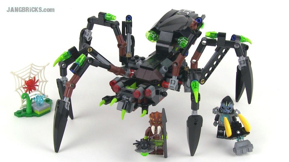 LEGO CHIMA SET 70130 SPARRATUS SPIDER STALKER