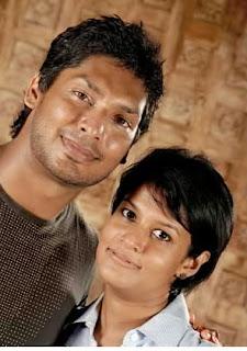 Gossip Elakiri Kumar Sangakkara With His Wife Yehali