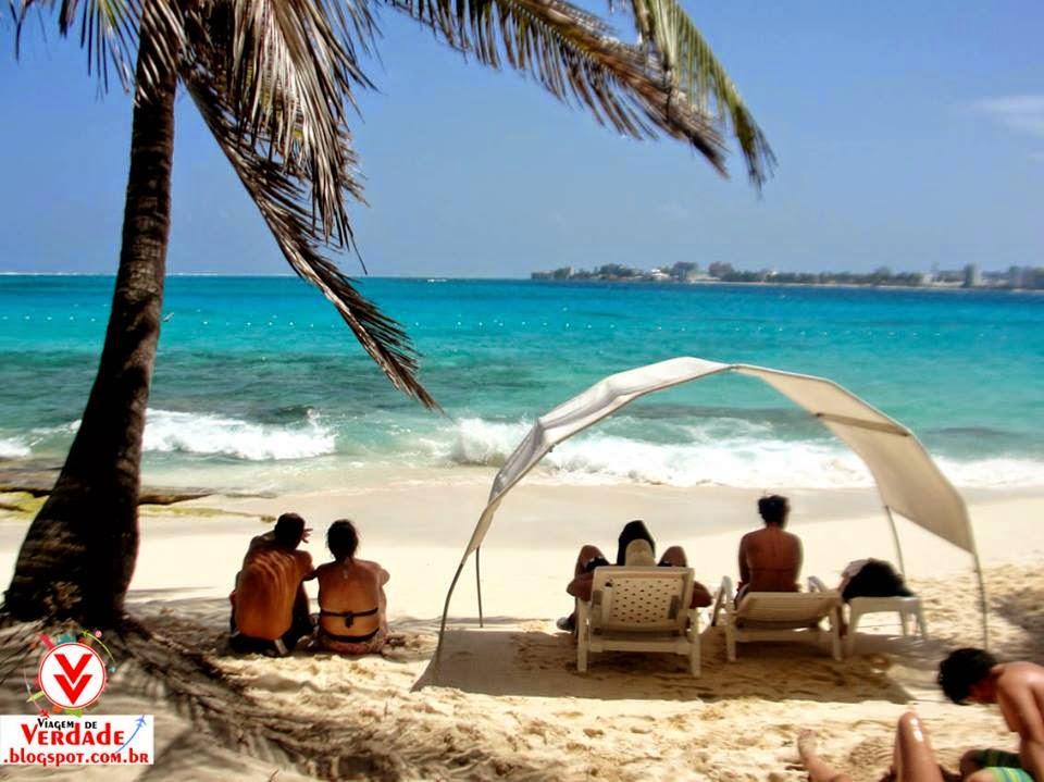 ilha de johnny cay praia