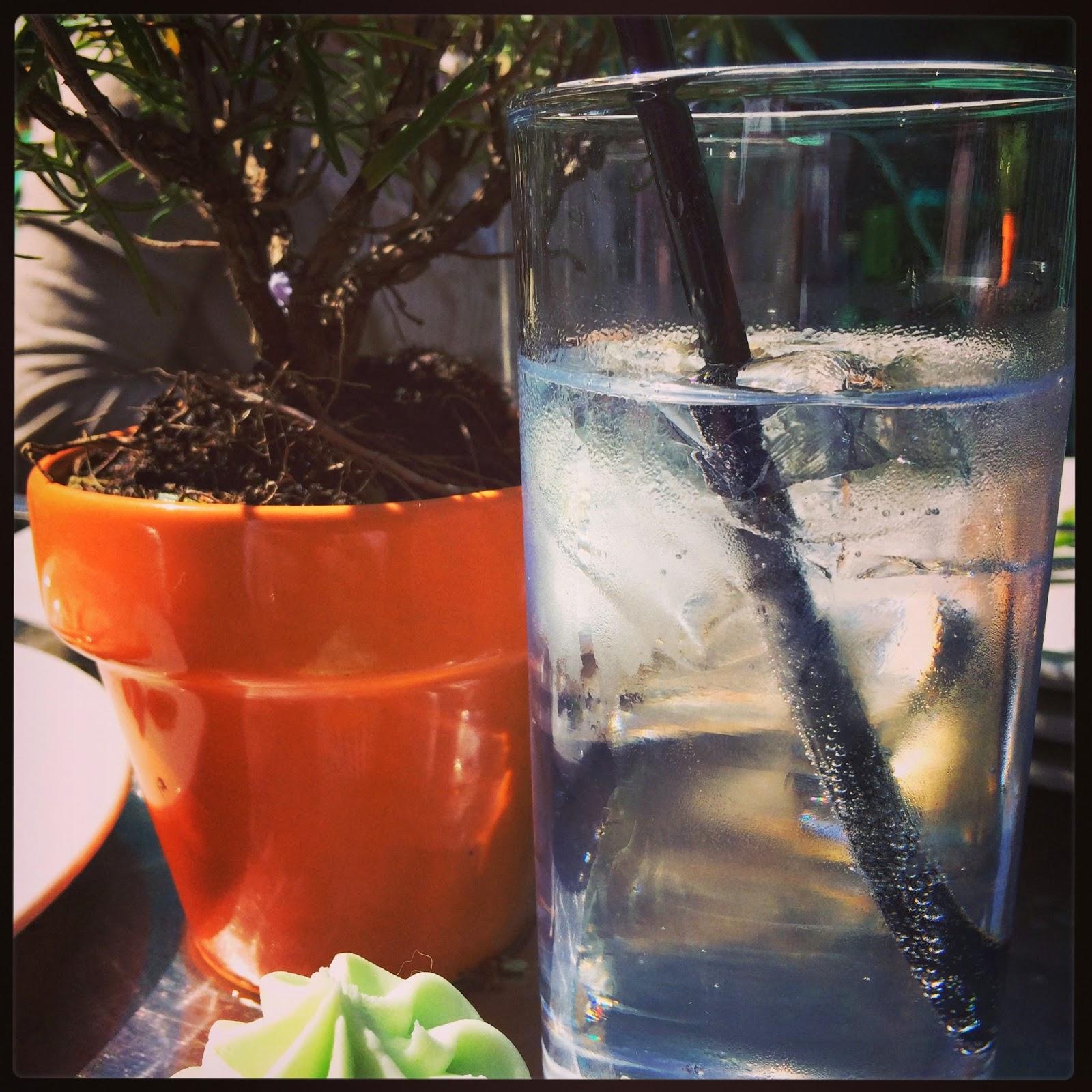 gin and tonic, cupcake #bcuk