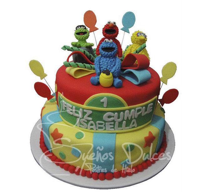 suenos-dulces: tortas elmo
